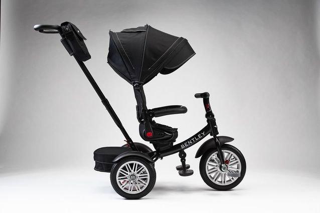 Трехколесный велосипед Bentley BN2O черный цвет (трансформер)